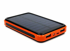 20000mah Mobile Phone Solar Power Bank Waterproof Double USB Battery Charger New