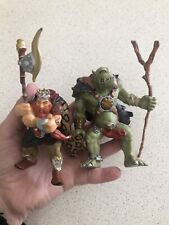 Papo Ogre and dwarf Fantasy figures