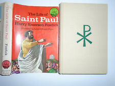 Landmark W-53, The Life of Saint Paul, Harry Fosdick, Leonard Everett Fisher, DJ