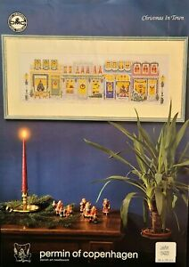 Christmas in Town • Danish Art Needlework • Counted Cross Stitch Pattern
