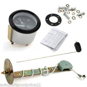 "2"" 52mm Car Fuel Level Gauge Meter w/ Fuel Sensor E-1/2-F Pointer 12V Universal"