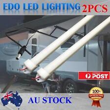 2X12V 50CM LED Strip Lights BAR Caravan 4WD Camping Fishing BOAT Awning Tent Car