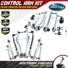 16pcs Control Arm Tie Rod Ball Joint Suspension Kit for BMW E39 525i 528i 530i