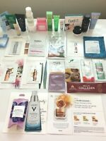 30+ Piece High End Skincare/Makeup Lot Sample/Travel badescu/kiehls/clinique etc