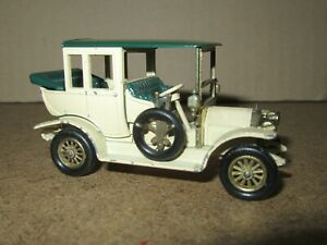 248D Matchbox No Y-3 England Benz Limousine 1910 Lesney Model Of Yesteryear