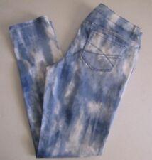 Womens Aeropostale Ashley Ultra Skinny Stretch Jeans. Size 13/14 Blue Print.