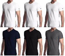 3 t-shirt uomo mezza manica puro cotone scollo a V DIADORA underwear art. 6068