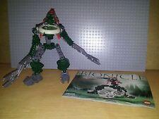 LEGO BIONICLE VAHKI - 8616 - VORZAKH - GREAT CONDITION, INC DISK & INSTRUCTIONS