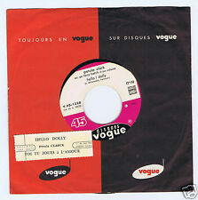 45 RPM PETULA CLARK JUKE BOX HELLO DOLLY