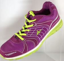 Athletech WILLOW 2 Women's Pink Sneakers Shoes Size 7 Neon Green Laces and Soles