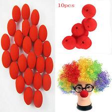 Rot Ball aus Schaum Harlekin Clown Nase Allerheiligenfest Zirkus Lustig Machen