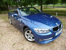2011 BMW 320D CONVERTIBLE LCI ~ TURBO DIESEL ~ LEATHER INT ~ ALLOYS~ NO RESERVE