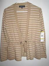 NWT JONES NEW YORK SIGNATURE CARDIGAN SWEATER MEDIUM