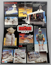 Vintage Palitoy Star Wars ESB Double Sided Toys Poster/Leaflet 1981