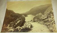 Vintage Photo of Turnpike Rocks Gap of Dunloe Killarney Kerry Ireland Landscape