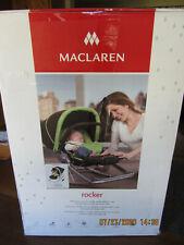 Maclaren Baby Rocker Multi Position/Vibrator, Black & Champagne, Preowned
