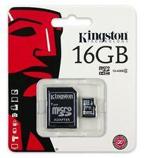 Kingston Micro SD 16GB Class 4 SDHC Memory Card Microsd TF Mobile Phone Camera