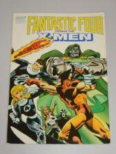 Fantastic Four Versus X-Men Marvel Comics (Paperback)< 9780871356505