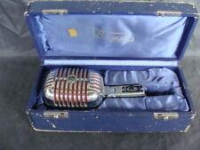 Microfono vintage Riem Milano cofanetto originale microphone canzone festival