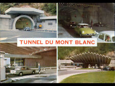 TUNNEL du MONT BLANC (74) CITROEN DS & SIMCA au POSTE de CONTROLE en 1967