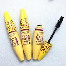 Women Lady Girl Leopard Yellow Tube Volumizing Makeup Eyeliner Mascara