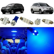 21x Blue LED lights interior package kit for 2001-2013 Acura MDX +Tool AM2B