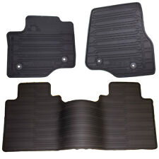 Oem New   Ford Super Duty All Weather Style Rubber Mat Set Fits