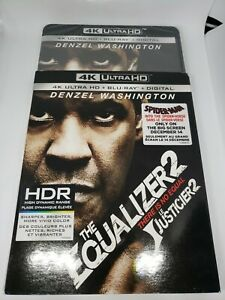 The Equalizer 2 [4K UHD Blu-ray and slip cover]