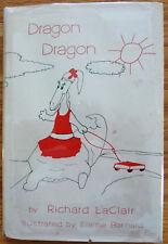 Dragon Dragon by Richard LaClair - HC/DJ 1st Ed - Rare
