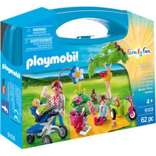 Playmobil Family Fun Family Picnic Carry Case 9103 NEW