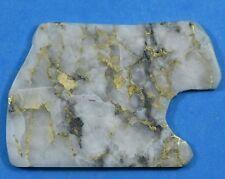 #2 Q Gold Bearing Quartz Slab California 10.09 grams Genuine