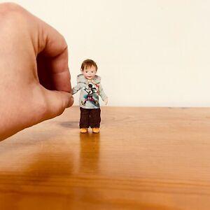 Ooak Doll Child Handmade Miniature Boy 12th Scale. By_lana