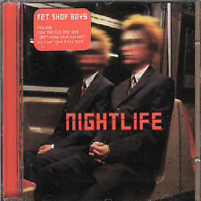 Nightlife Pet Shop Boys MUSIC CD