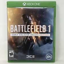 Battlefield 1 Early Enlister Deluxe Edition Microsoft Xbox One Game Tested