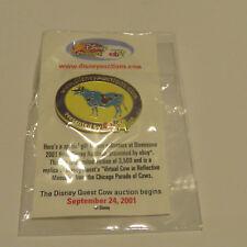 Disney Disneyana 2001 Giveaway Disney Auctions Virtual Cow Pin