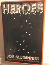 Heroes by Joe McGinniss 1976 Hardcover Good Condition