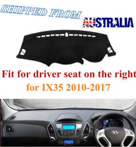 RHD Dashboard Dash Mat Dash Cover NoN-Slip For Hyundai IX35 2010-2017