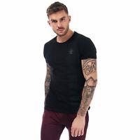 Mens Gym King Lawskey T-Shirt In Black