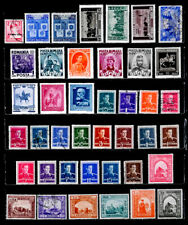 ROMANIA: 1940'S STAMP COLLECTION WITH SETS MOSTLY UNUSED