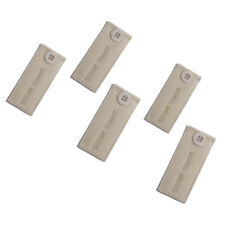 Adjustable Pant Waistband Extension (Button 5-Pack, Khaki / Beige)
