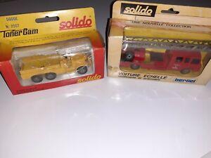 Solido 1/50 Lot 2 camions Dodge et Berliet