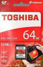 Toshiba SD 64 GB Camera Memory Cards