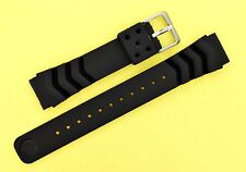SEIKO RUBBER STRAP WAVE Z20 BAND 6105 6217 7C43 7S26 MEDIUM DIVERS WATCH NR#035