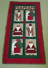 New listing Christmas Hand Quilted Wall Hanging