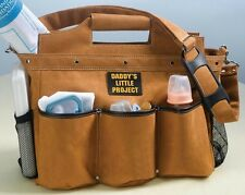 Building the Foundation Daddy's Diaper Bag Project Changing Work Bag Dad Father