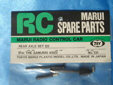 BRAND NEW MARUI REAR AXLE SET For THE SAMURAI 4WD Part No:131 Made in JAPAN