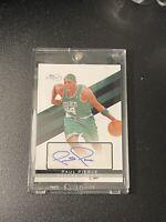 Paul Pierce Topps Singature Boston Celtics Autographed Card
