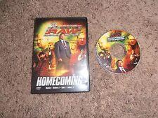 RAW HOMECOMING wwe dvd wrestling MONDAY NIGHT RAW