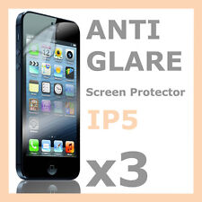 3 x New Anti Glare Matte Screen Protector LCD Film Cover  for Apple iPhone 5S 5C