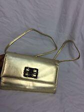 Beautiful Judith Jack Sterling Silver Marcasite Lock Golden Handbag Purse